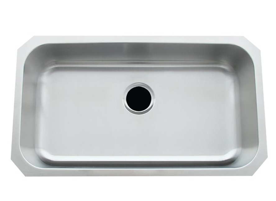 Stainless+Steel+31+L+x+18+W+Undermount+Kitchen+Sink
