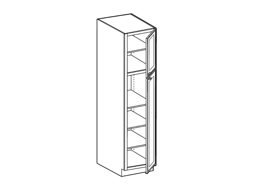 pantry 2 door